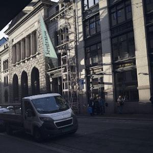 Sentralens fasade