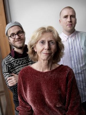 Peter Daatland, Bodil Maroni Jensen og Einar Stray Står ved siden av hverandre