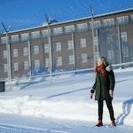 Bente Almås foran Ila fengsel