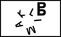 Logoen til Klimabrølet, med bokstaver som flyter rundt på en hvit bakgrunn.