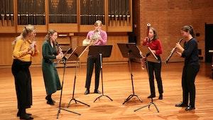 Blåsekvitetten Quintessence spiller på Ungdommens musikkmesterskap