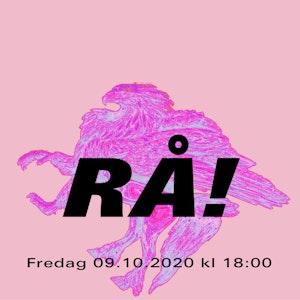 Utsnitt av plakaten til RÅ oktober 2020