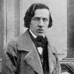 Bilde av Chopin i frakk