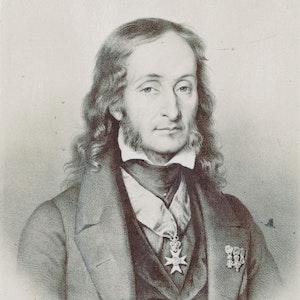 Tegning av Paganini