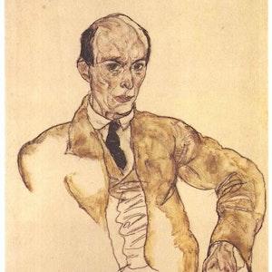 Tegning av Schönberg