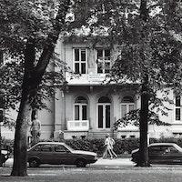 Foto av gamle Musikkhøgskolen i 1983