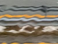 Striper av farger som ser ut som lydbølger