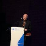 Bjørn Kruse holder takketale for Lindemanprisen 2018