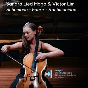 Sandra Lied Haga på konsertplakat til konserten Cantabile november 2019