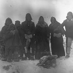 Historisk bilde tilhørende Hinterland Archives med Erik Dæhlin