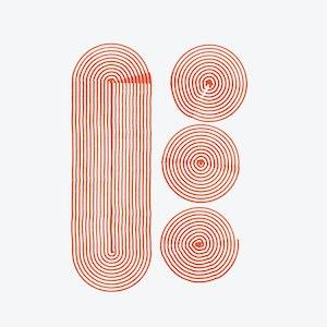 Illustrasjon – tegning av en krøll.