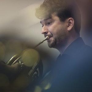 Julius Pranevicius spiller horn