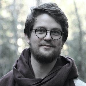 Markus Dunseth i skog