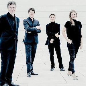 Gruppebilde av Oslo strykekvartett