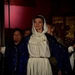 Rebekka Ingibjartsdottir synger på scenen
