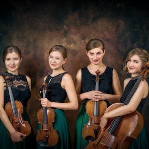 Gruppebilde av Selini Quartet