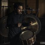 David Cariano Timme med skarptromme og gong