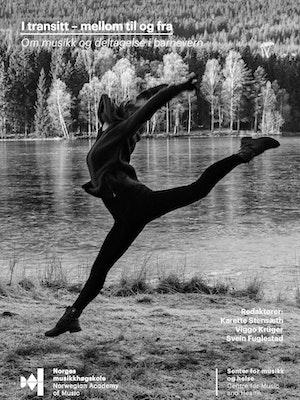 """Forsiden til """"I transitt – mellom, til og fra. Om musikk og deltagelse i barnevern"""" av Karette Stensæth, Viggo Krüger og Svein Fuglestad (red.)."""